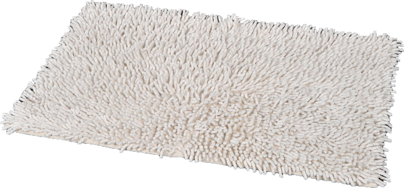 Shag bathroom rug