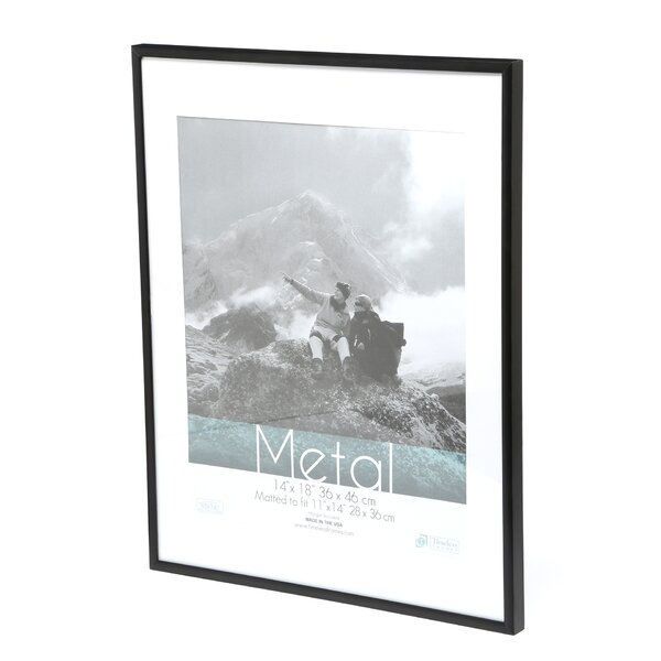 Matted poster frame