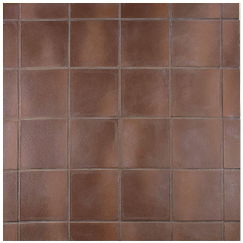 Red Ceramic Floor Tile Aunt Suefo
