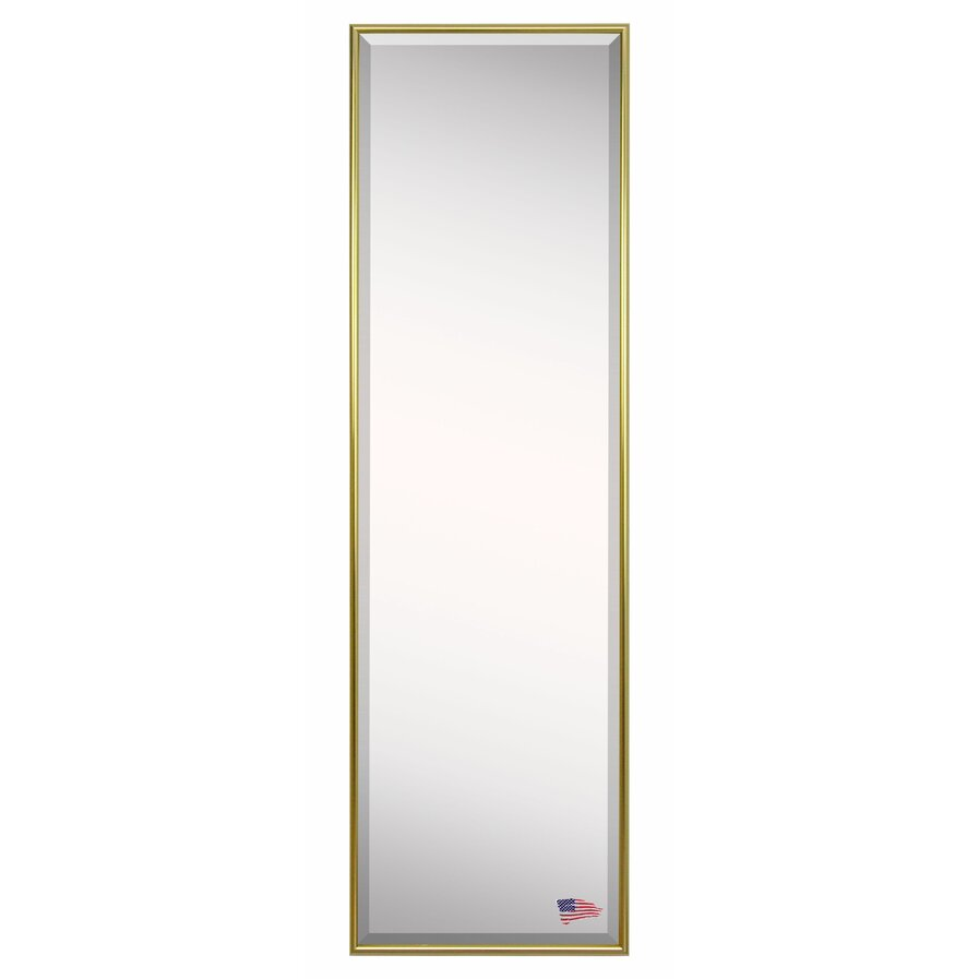 Luminous metal floor mirror