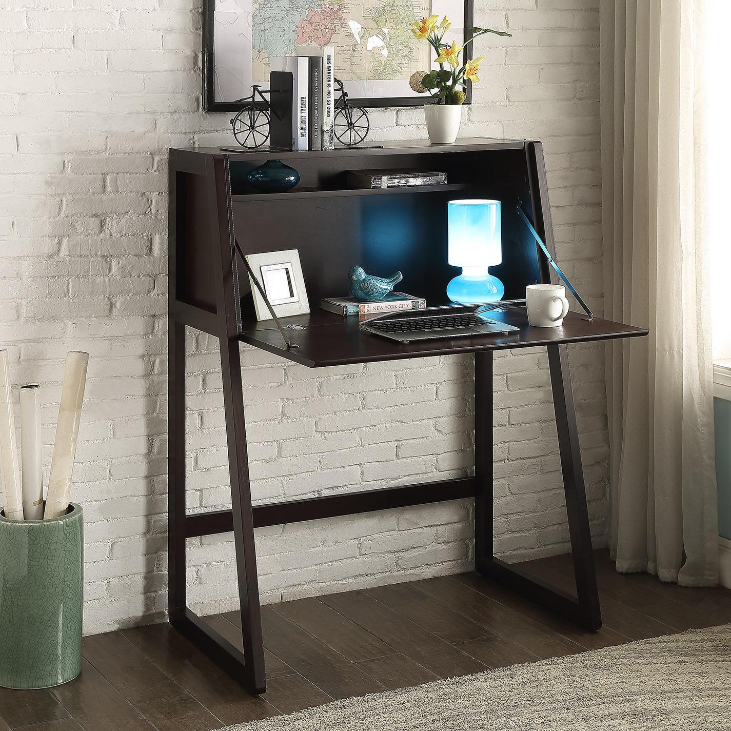 Homestyle Collection Eldorado Secretary Desk & Reviews | Wayfair