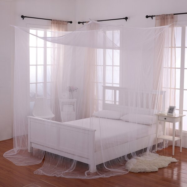 Canopy bed curtains walmart