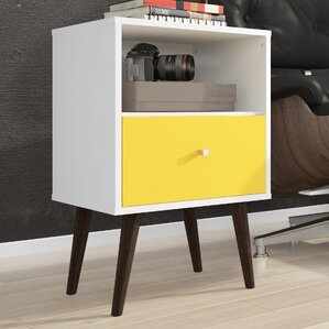 Yellow night stand