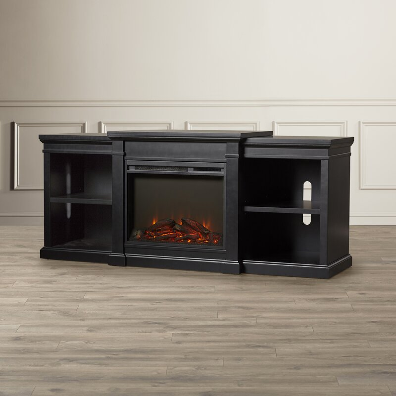 delaney 48 tv stand with fireplace  74815
