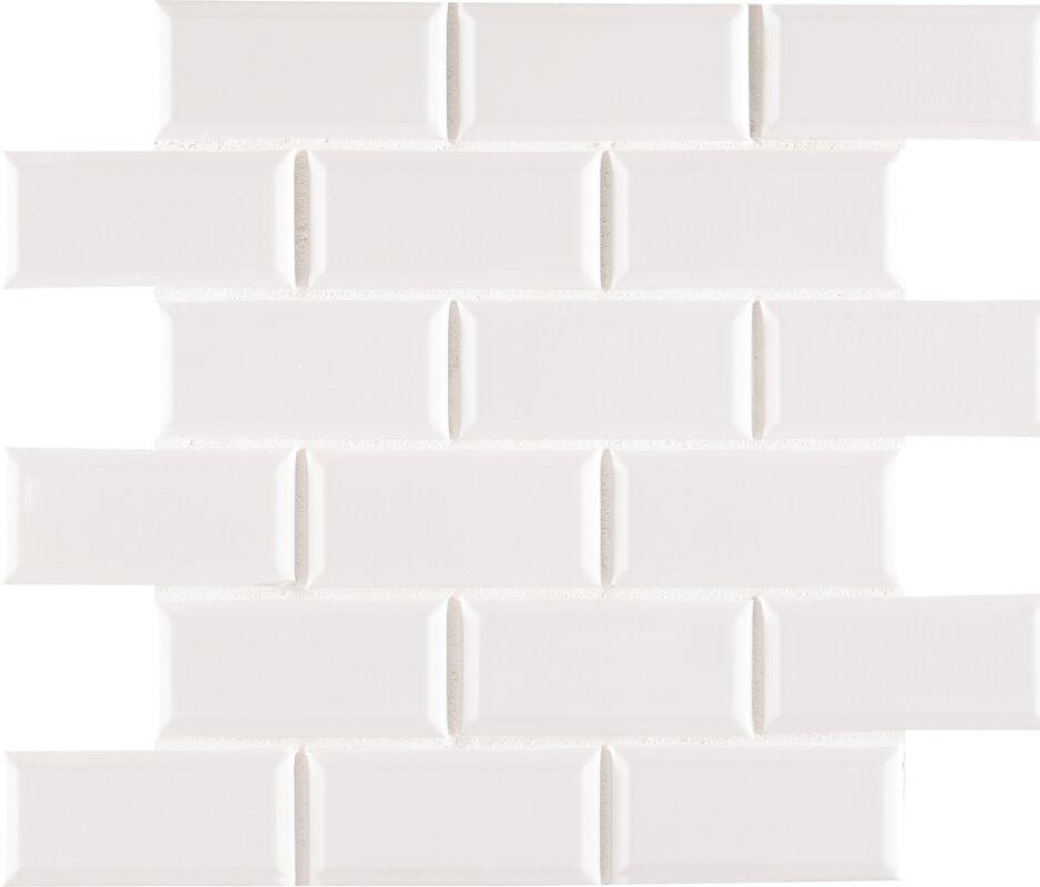 3 x 6 beveled subway tile