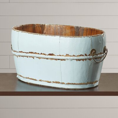 August Grove Mallette Oval Sink Bucket With Iron Handles Reviews