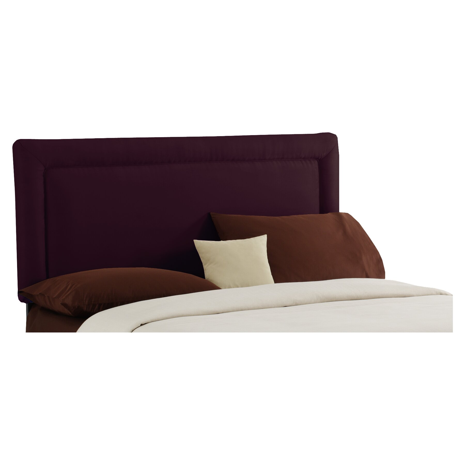 Skyline Furniture Border Upholstered Panel Headboard Reviews