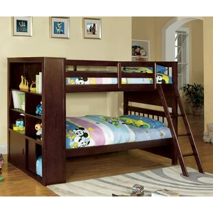 Fauntleroy Twin Over Bunk Bed With Bookcase