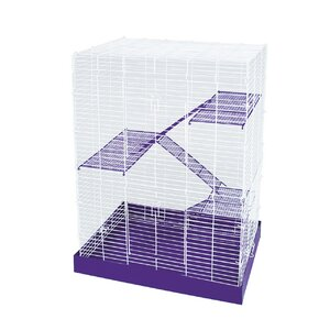4-Story Chew Proof Small Animal Cage