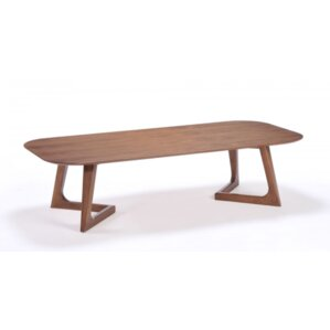 Rosemary Walnut Coffee Table by Corrigan Studio
