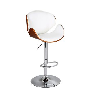 Cioffi Adjustable Height Swivel Bar Stool