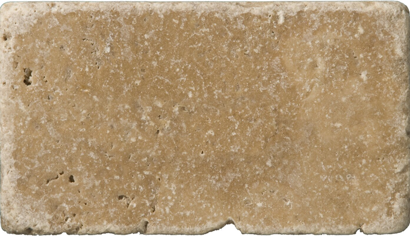 Emser tile travertine 3 x 6 subway tile in vino tumbled noce travertine 3 x 6 subway tile in vino tumbled noce doublecrazyfo Gallery