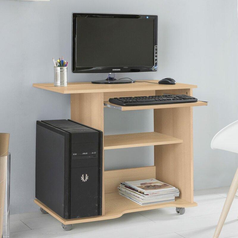 clearambient computertisch mit tastaturauszug bewertungen. Black Bedroom Furniture Sets. Home Design Ideas