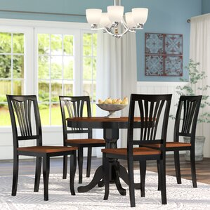 Piece Kitchen  Dining Room Sets Youll Love Wayfair - 5 piece dining room sets