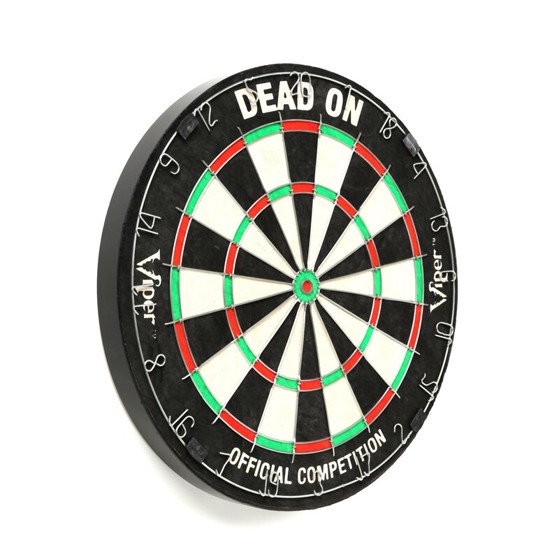 GLD Products Dead-On Bristle Dart Board & Reviews | Wayfair