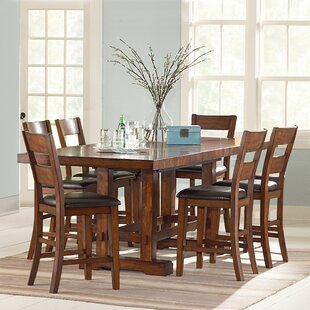 Ellington 7 Piece Counter Height Extendable Dining Set