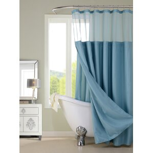 Blue Shower Curtains Youll Love - Bathroom shower curtains with designs