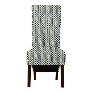 Keyesport Lattice Parsons Chair (Set of 2..
