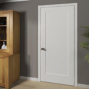 Shaker 1 Panel Wood Slab Interior Door