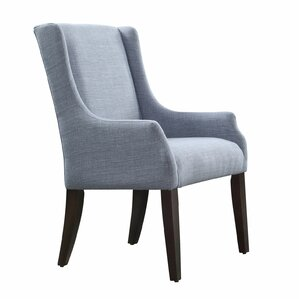 Tinley Linen Sloped Armchair by Darby Home Co