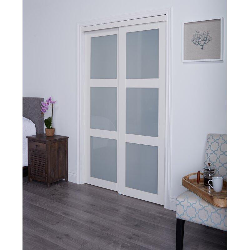 Baldarassario Glass Sliding Closet Doors