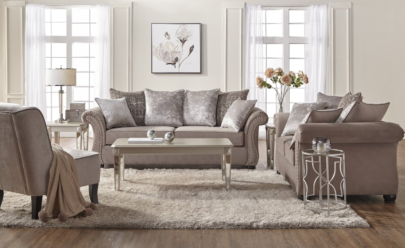 Traditional Living Room Sets  SKU  ACOT4916  default nameAlcott Hill Agnes Upholstery Living Room Collection   Reviews  . Living Room Collections. Home Design Ideas