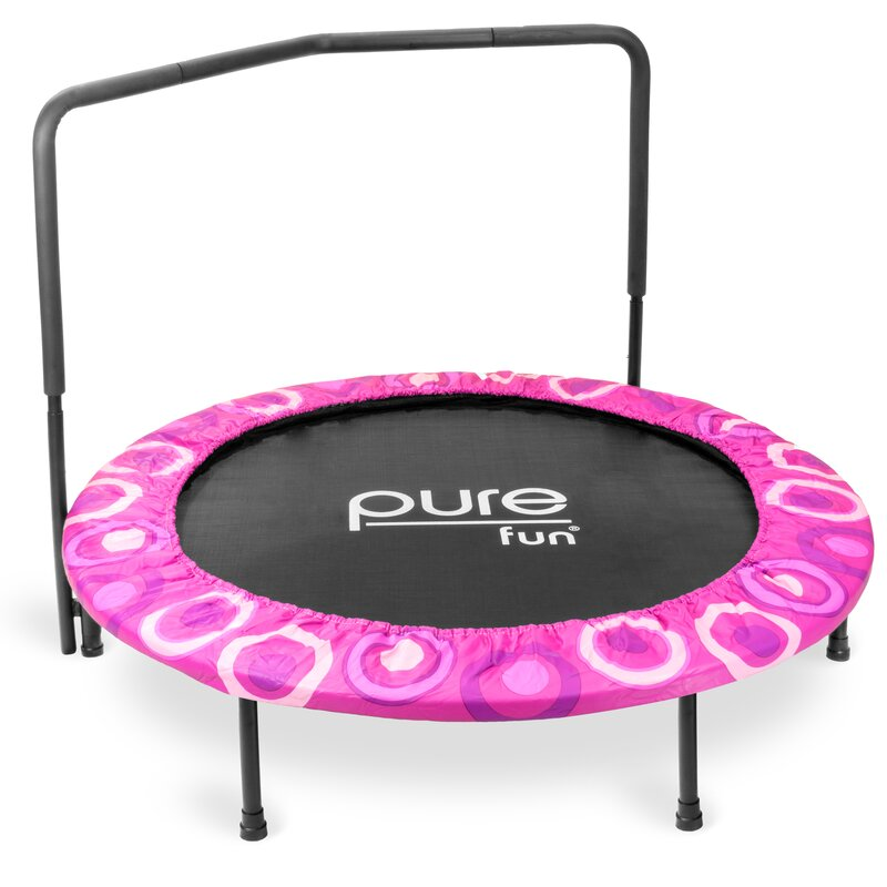 Pure Fun Kids 4' Round Trampoline & Reviews