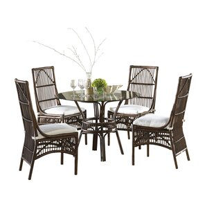 Bora Bora 5 Piece Dining Set by Panama Ja..