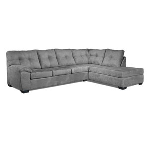 Camden Sectional  sc 1 st  Wayfair : grey sectional with chaise - Sectionals, Sofas & Couches