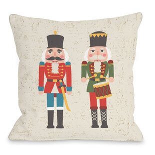 christmas soldiers throw pillow - Large Toy Soldier Christmas Decoration