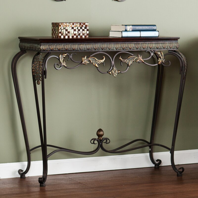 Byrd 4 Piece Console Table and Mirror Set & Console Table Mirror Set | Wayfair