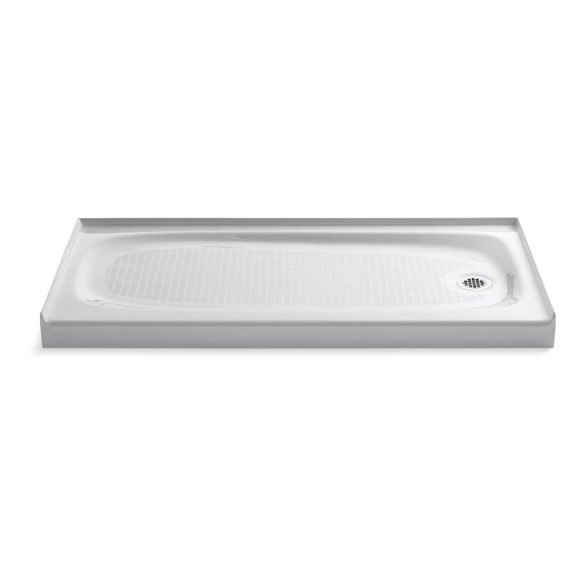 Salient 60 X 30 Single Threshold Right Hand Drain Shower Base