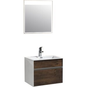 brockman 24 single modern bathroom vanity set - Bathroom Cabinets Sink
