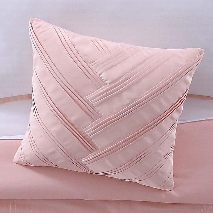 Vince Camuto Lyon Blush Decorative Throw Pillow Reviews Wayfair Impressive Peach Decorative Throw Pillows