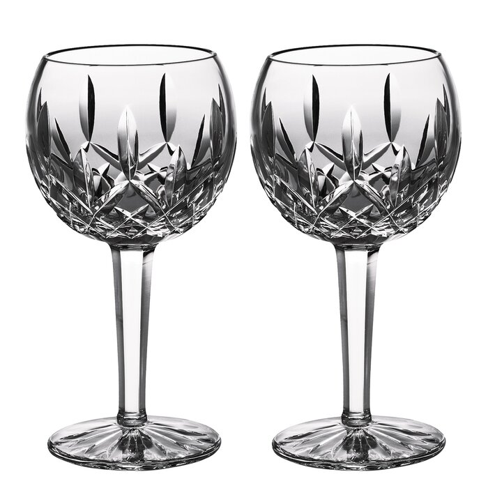 34e4c245c73 Lismore 8 oz. Crystal White Wine Glass