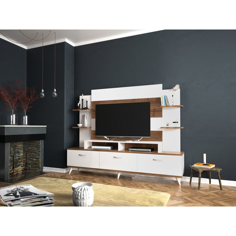ff1c8f86f66deb George Oliver Destefano TV Entertainment Center for TVs up to 55