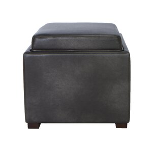 Newfield Tray Top Storage Ottoman by Alcott Hill