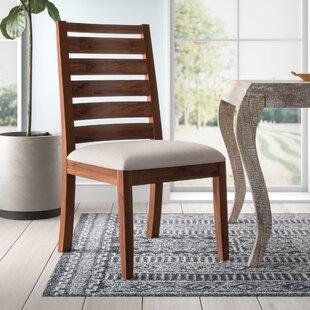 Trevion Ladderback Upholstered Side Chair (Set of 2)
