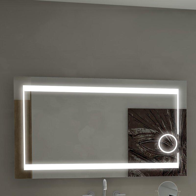 Aurora Illuminated Bathroom Vanity Wall Mirror