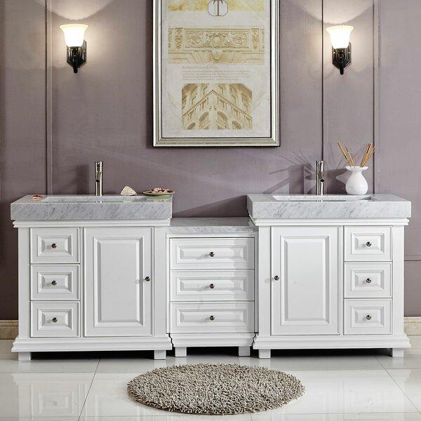 Darby Home Co Balfour Falls Contemporary 90 Double Bathroom Vanity Set Reviews Wayfair