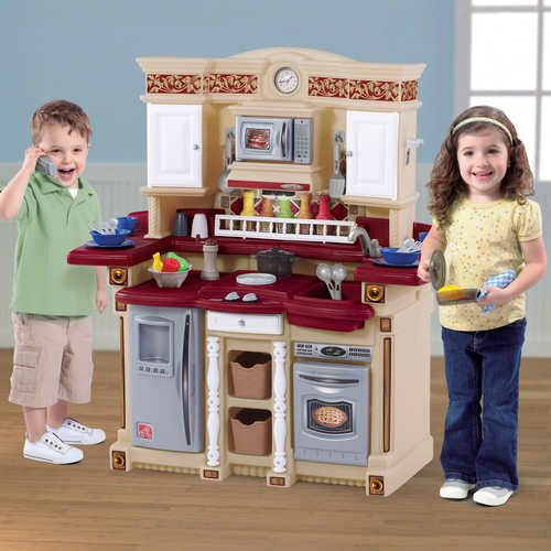 Step 2 Play Kitchen step2 lifestyle 33 piece party time kitchen set & reviews | wayfair