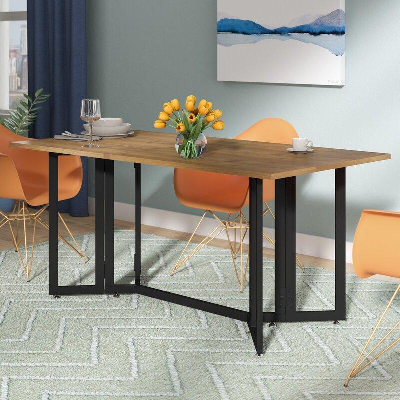 Zipcode Design Adams Extendable Dining Table & Reviews   Wayfair