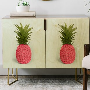 Paul Fuentes Pineapple Roses Credenza
