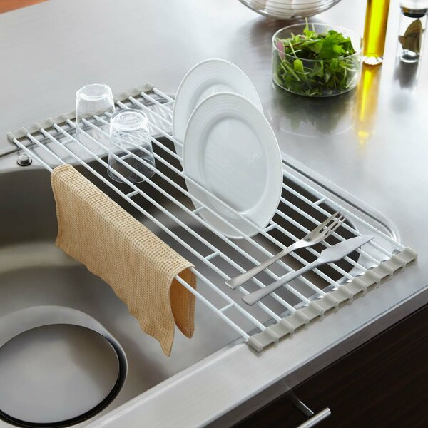 Yamazaki Usa Plate Folding Sink Drainer Rack Amp Reviews