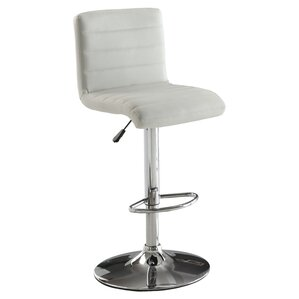 Fauna Adjustable Swivel Bar Stool