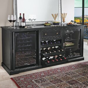 28 Bottle Siena Single Zone Freestanding Wine Cooler by Wine Enthusiast