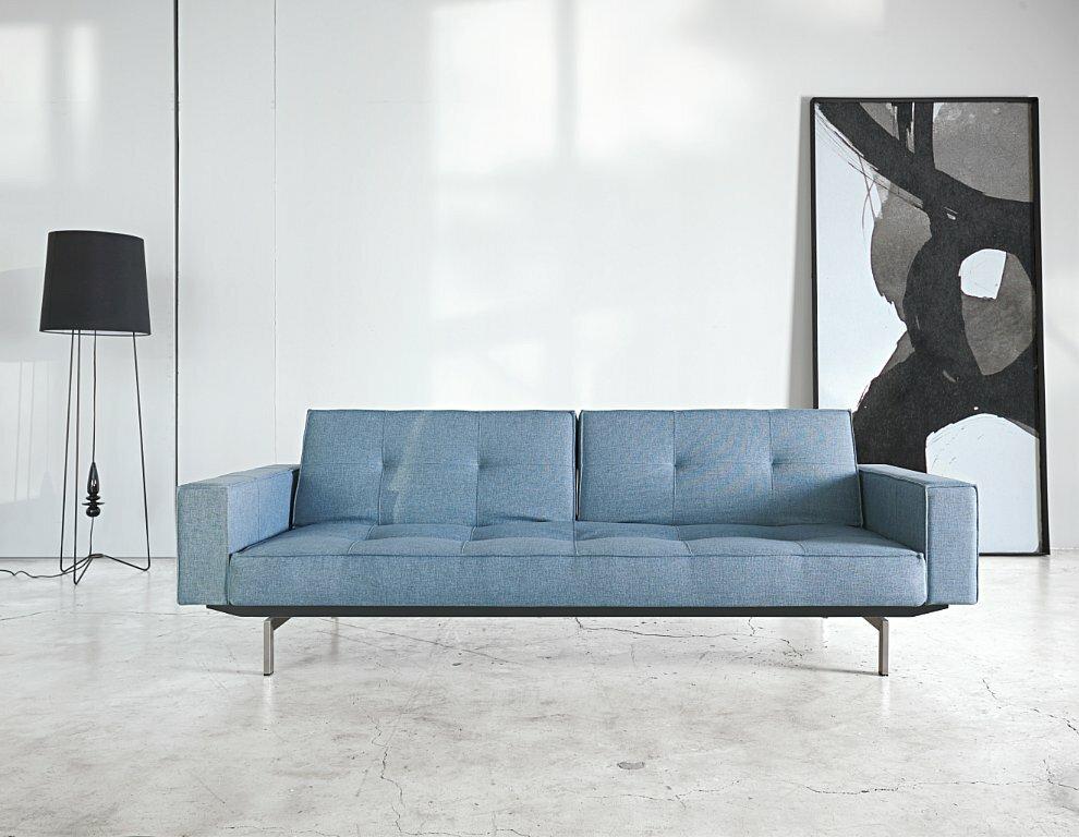 Charming Split Back Sleeper Sofa