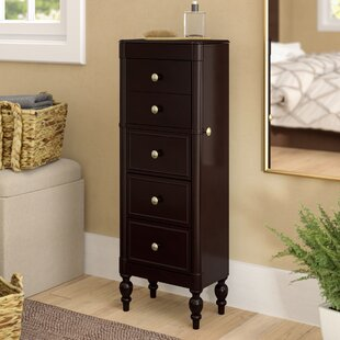 Carnbore Jewelry Armoire With Mirror