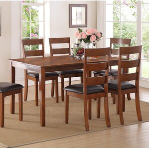 Lakemore Solid Wood Dining Chair (Set of 4) by Charlton Home