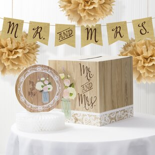 Rustic Wedding Decorations.Rustic Wedding Decorations Wayfair